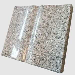 książka granitowa szary granit