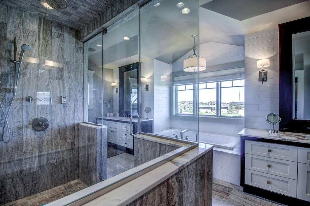 Spa-ensuite-steam-shower-20-October-Gold-Gate-Elbow-Valley-For-Sale-Plintz-Real-Estate-Calgary-Sothebys