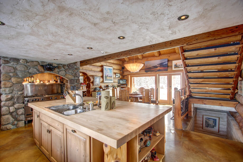 Butcher-block-countertops-352248-Pine-Ridge-Road-Bragg-Creek-Ranch-Acreage-For-Sale-Calgary-Real-Estate-For-Sale-taylor-sothebys-Realtor-Plintz