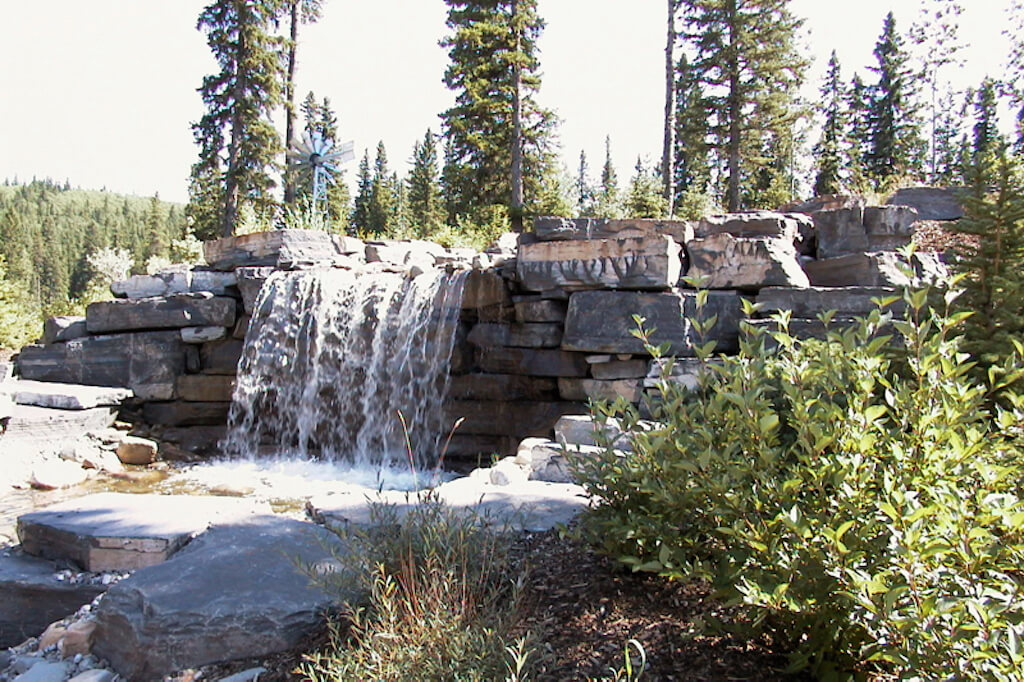 Rock-waterfall-352248-Pine-Ridge-Road-Bragg-Creek-Ranch-Acreage-For-Sale-Calgary-Real-Estate-For-Sale-taylor-sothebys-pond