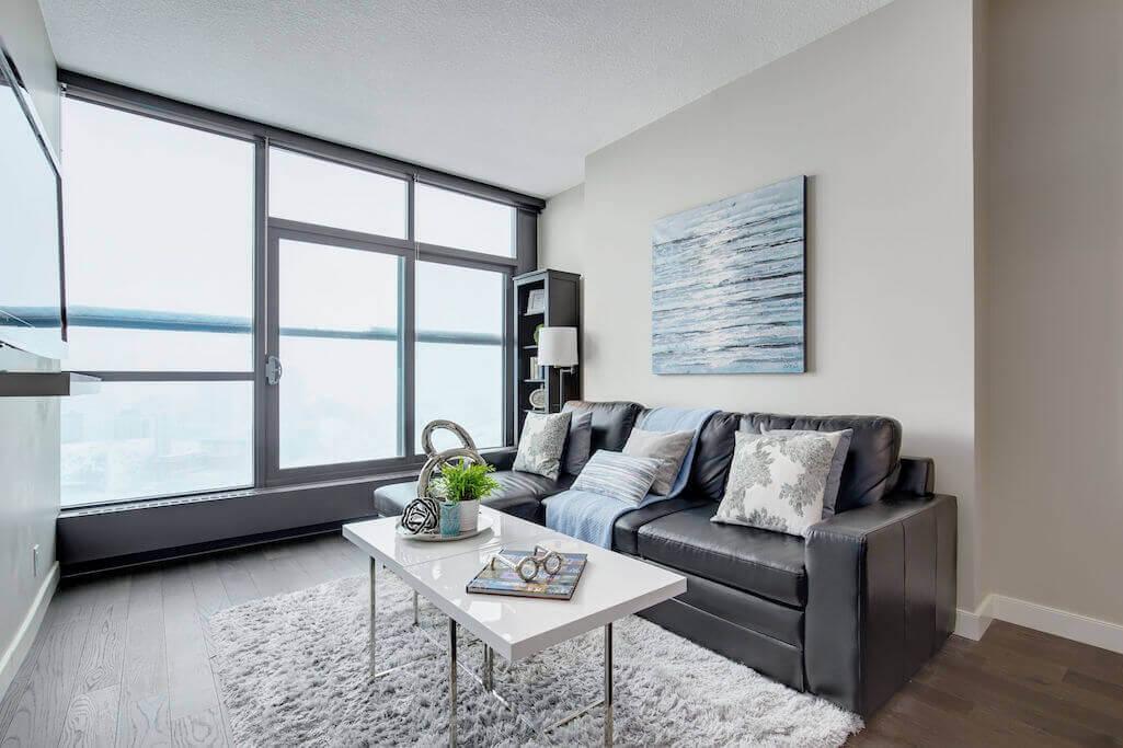 living-room-2402-225-11-Avenue-SE-Keynote-Condo-Victoria-Park-Beltline-Calgary-Real-Estate-Plintz-Realtor-Luxury