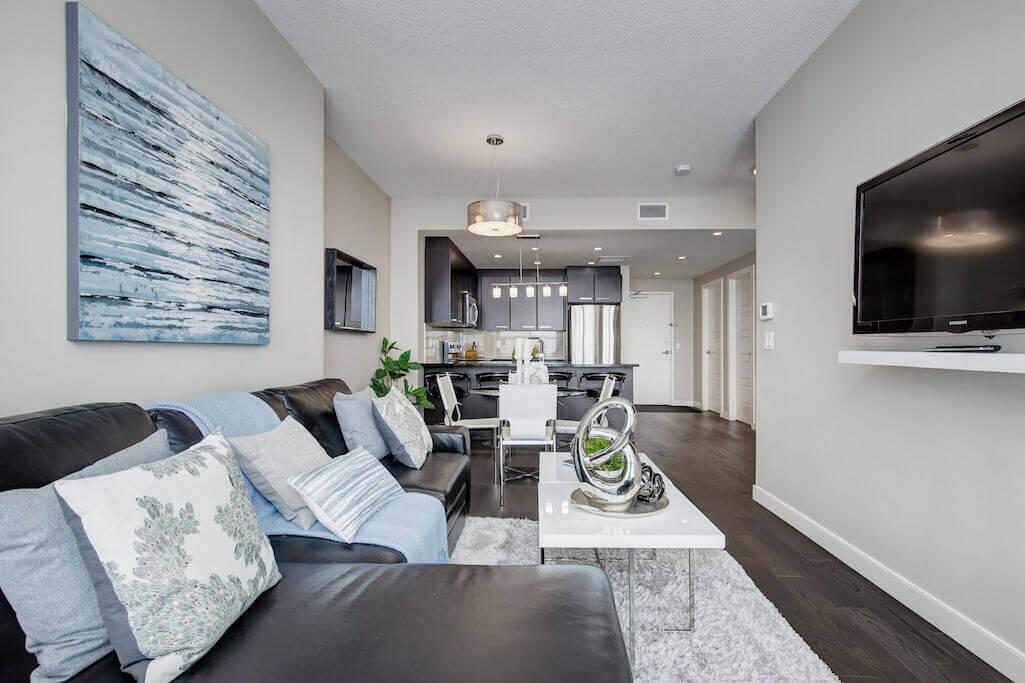 modern-living-space-2402-225-11-Avenue-SE-Keynote-Condo-Victoria-Park-Beltline-Calgary-Real-Estate-Plintz-Realtor-Luxury