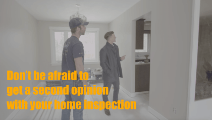 Home inspection second opinion expert