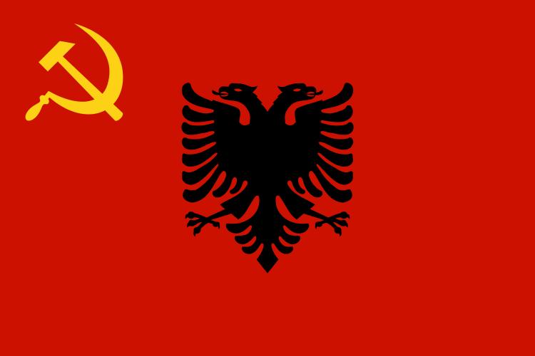 Flamuri i RP dhe RPS të Shqipërisë