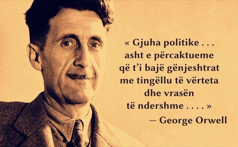 Orwell, thanie për gjuhën politike