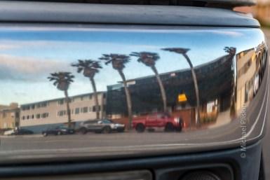 Reflection on a bumper - Redondo Beach, CA