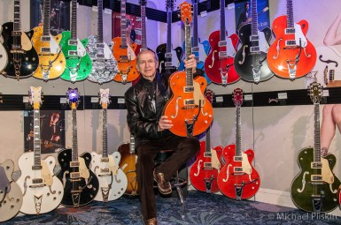 Fred Gretsch, grandson of the founder of Gretsch guitars