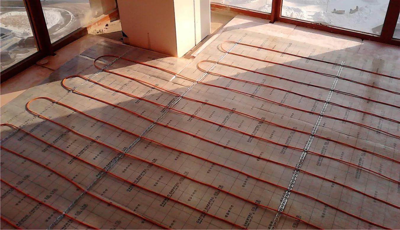 Perhitungan bahan lantai hangat
