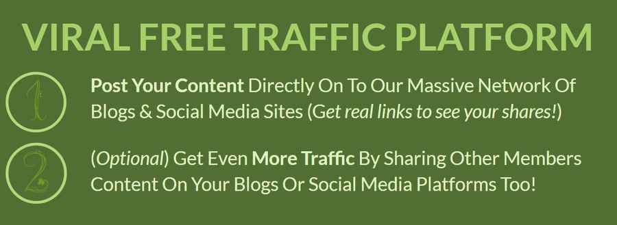 Traffic Ivy: Gets Guaranteed Real FREE Traffic Anytime You Want, Plius Info