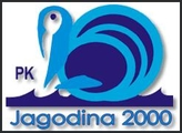 """Знак пливачког клуба """"Јагодина 2000"""" из Јагодине"""