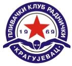 """Знак пливачког клуба """"Kрагујевац"""" из Крагујевца и линк на њихову страницу"""
