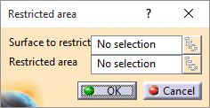 Restricted Area Dialog