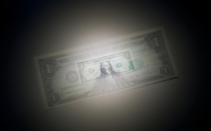 shrinking dollar concept