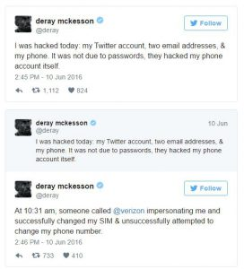DeRay McKesson's twitter