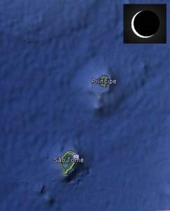 Eclipse 1/9/2016 - São Tomé e Principe