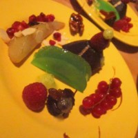 Lactosevrij dessertbordje