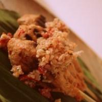Indonesische kalkoensaté met citroengrassambal