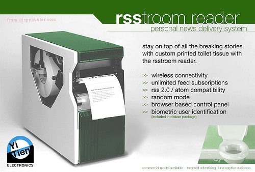 RSS廁紙閱讀器