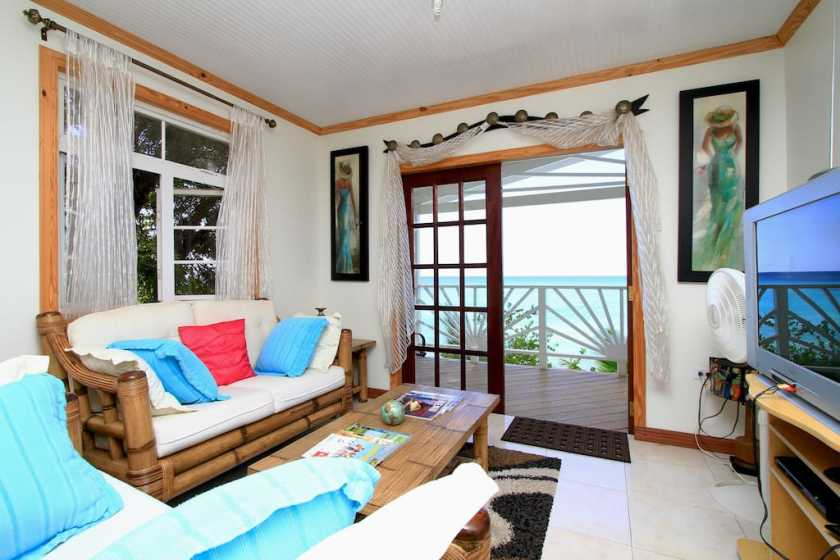 Plombagine Cottage Barbados beachfront villa
