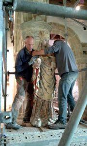 Septembre, préparation du départ de ND de Languivoa pour le départ en restauration