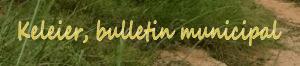 Les Keleier, bulletins municipaux