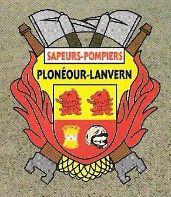 L'écusson des sapeurs-pompiers de Plonéour-Lanvern