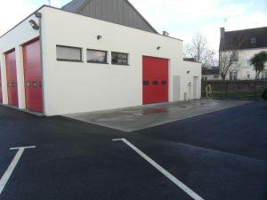 Sapeurs-Pompiers de Plonéour-Lanvern : L'aire de lavage