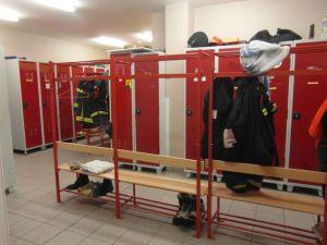 Sapeurs-Pompiers de Plonéour-Lanvern : Les vestiaires