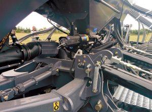 Une machine de semis direct de l'entreprise Le Lay (Plonéour-Lanvern)