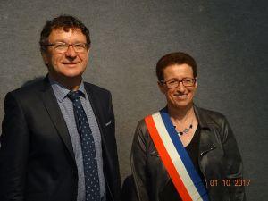 Michel Canevet et Josiane Kerloch