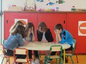 Jeux à la garderie périscolaire de Plonéour-Lanvern