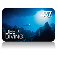 SSI - Deep Diving Certification Card