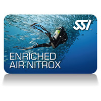 SSI Enriched Air Nitrox Card