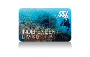 SSI - Independent Diving certification card