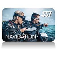 Carte de certification de spécialisation de plongée Navigation-Sous-Marine-SSI-Navigation