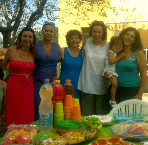 Barbara, Gabriella, Giusy, Valeria