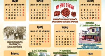 Kalendar na hrvatskom