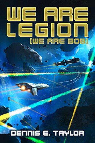 We Are Legion (We Are Bob) Book Cover