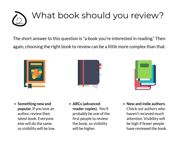 Choosing The Right Book to Review