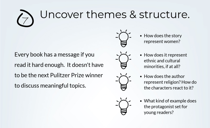 Identifying Themes in Books