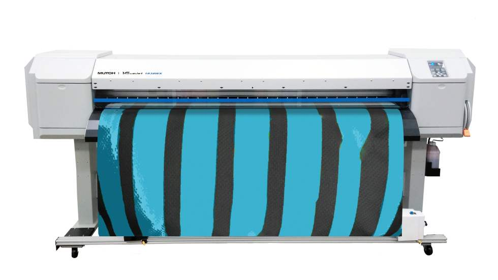 Mutoh 1938WX Front