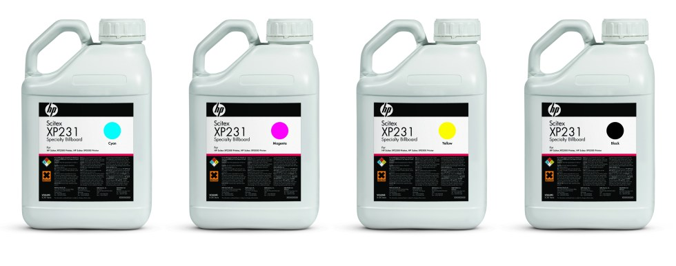 HP XP 231 Colored Ink