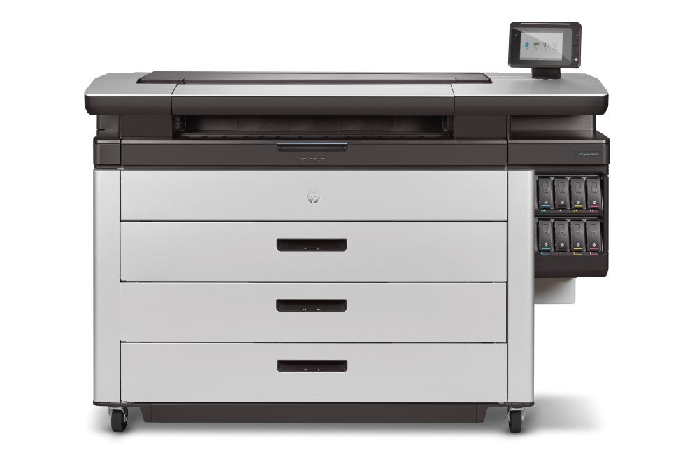 HP PageWide XL 8000 Front