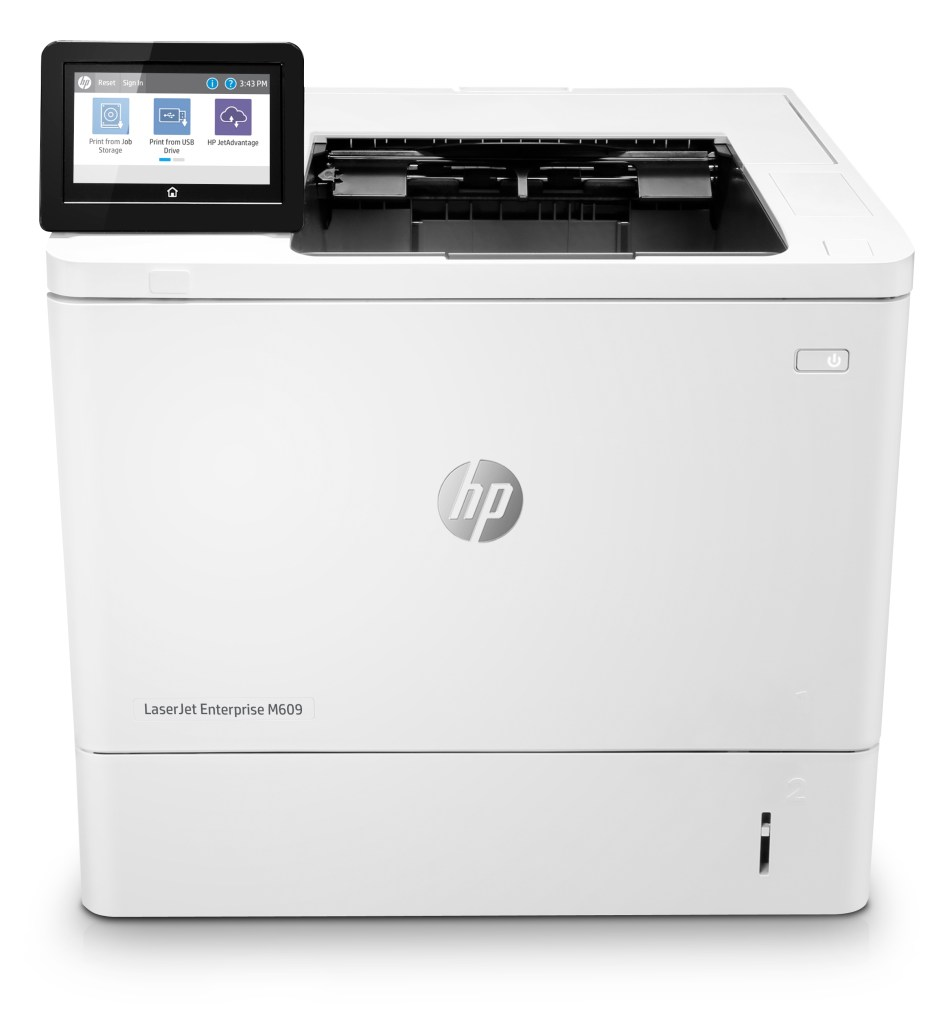 HP LazerJet Enterprise M609 Front
