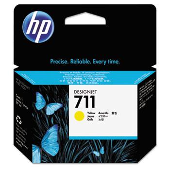 HP 711 Yellow Ink Cartridge