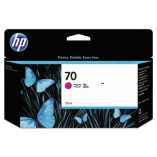HP 70, (C9453A) Magenta Original Ink Cartridge 130ml