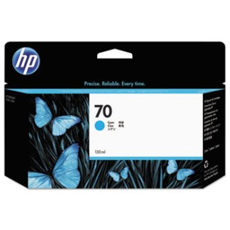 HP 70 Cyan Original Ink Cartridge