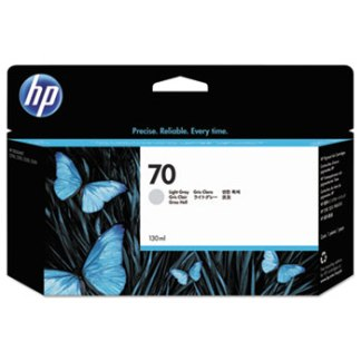 HP 70 Light Gray Original Ink Cartridge 130ml