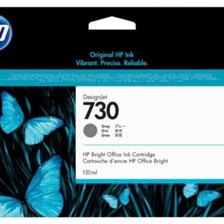 HP 730 130-ml Gray DesignJet Ink Cartridge