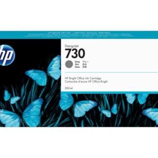 HP 730 300-ml Gray DesignJet Ink Cartridge